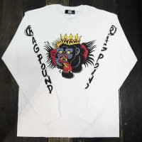 KOB Clothing NO DELUSIONS 40 「R」 L/S T-SHIRTS [WHITE]