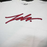 [SUPER SALE/40%OFF]JSLV SIGNATURE STROKE TEE[WHITE]  - MSS8055