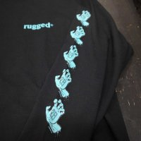 RUGGED 28号 LONG SLEEVE T-SHIRTS[BLACK]<img class='new_mark_img2' src='//img.shop-pro.jp/img/new/icons8.gif' style='border:none;display:inline;margin:0px;padding:0px;width:auto;' />