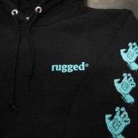 RUGGED 28号 SWEAT HOODY[BLACK]<img class='new_mark_img2' src='//img.shop-pro.jp/img/new/icons8.gif' style='border:none;display:inline;margin:0px;padding:0px;width:auto;' />