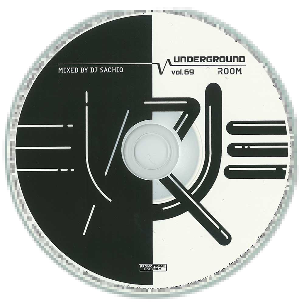 DJ SACHIO - UNDERGROUND ROOM VOL.69