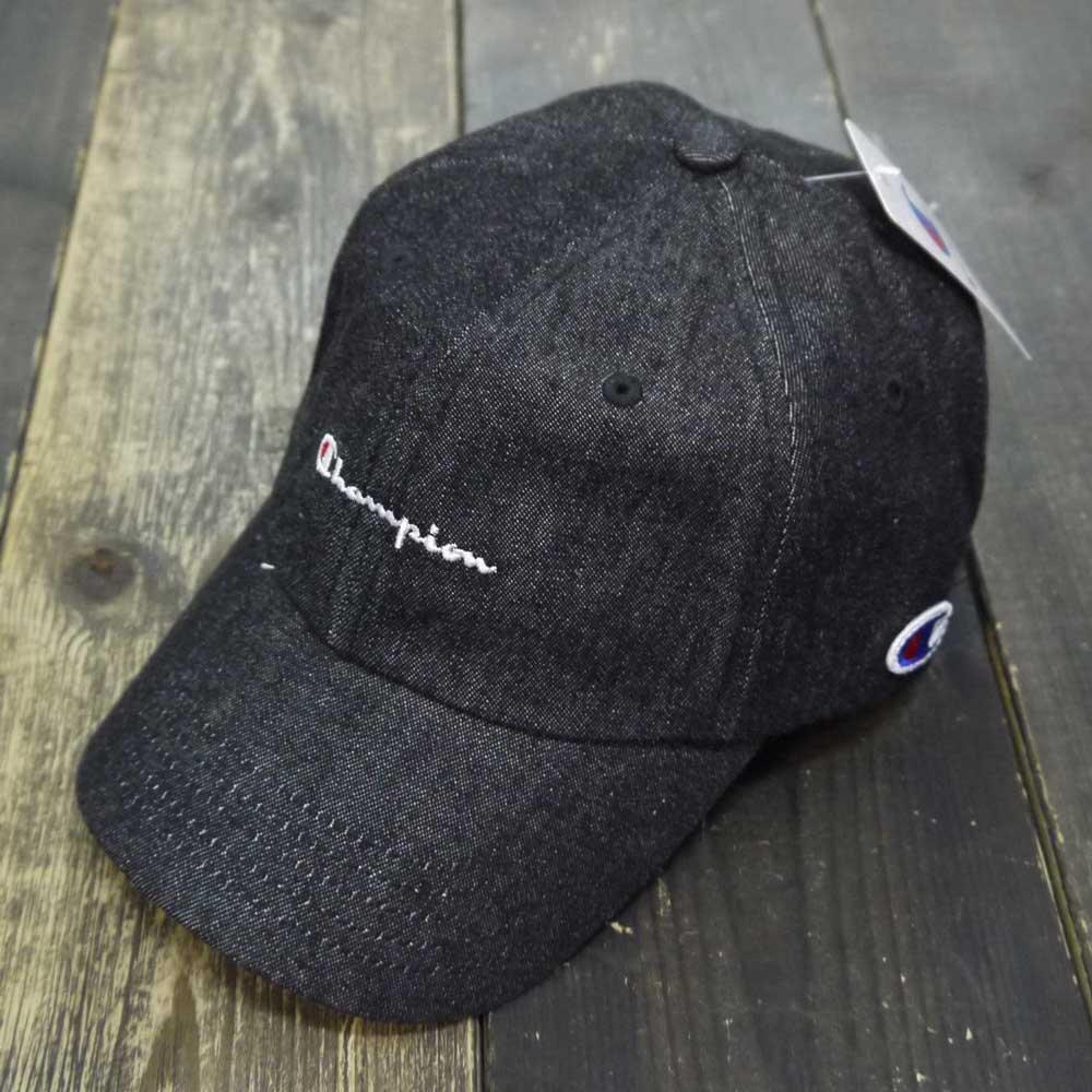 Champion DENIM LOW CAP [BLACK DENIM] ...