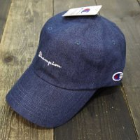 Champion DENIM LOW CAP [NAVY DENIM] - 381-0136