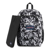 JANSPORT DIGITAL STUDENT BACKPACK[BLACK PAINT BALL]