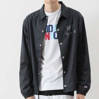 Champion REFLECTOR PRINT COACH JACKET[BLACK] - C3-M603