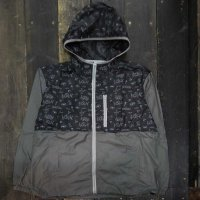 PANIC x SEDUCE HIP HOP DNA NYLON PARKA JACKET[BLACK]