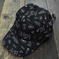 PANIC x SEDUCE HIPHOP DNA AJUSTER CAP[BLACK]