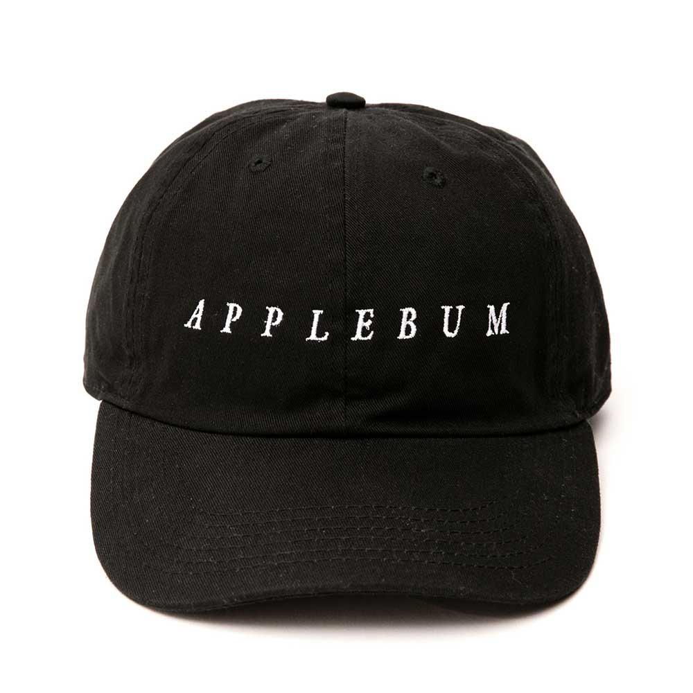 APPLEBUM LOGO COTTON CAP [BLACK] - 18...