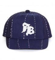 [SUPER SALE/20%OFF]APPLEBUM 古布(ふるぎれ)  CAP [NAVY] - 1620901 - O