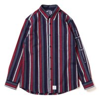 APPLEBUM NAVY STRIPE SHIRT - 1810212<img class='new_mark_img2' src='//img.shop-pro.jp/img/new/icons8.gif' style='border:none;display:inline;margin:0px;padding:0px;width:auto;' />
