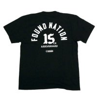 FORGET NEVER FOUNDNATION JAM -15th ANNIVERSARY- T-SHIRT[BLACK]