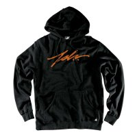 JSLV PULLOVER HOODIE SIGNATURE[BLACK/ORANGE]<img class='new_mark_img2' src='//img.shop-pro.jp/img/new/icons1.gif' style='border:none;display:inline;margin:0px;padding:0px;width:auto;' />