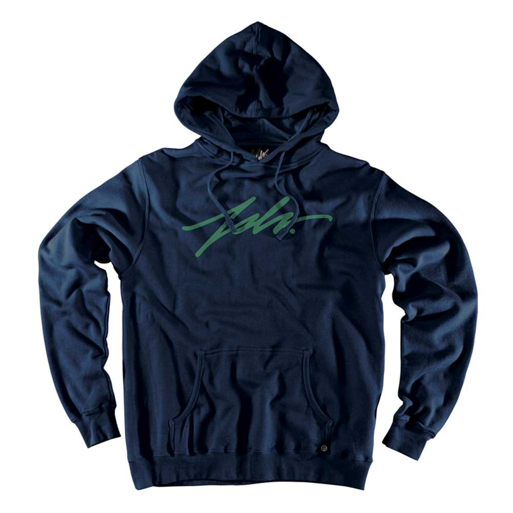 JSLV PULLOVER HOODIE SIGNATURE[NAVY/T...