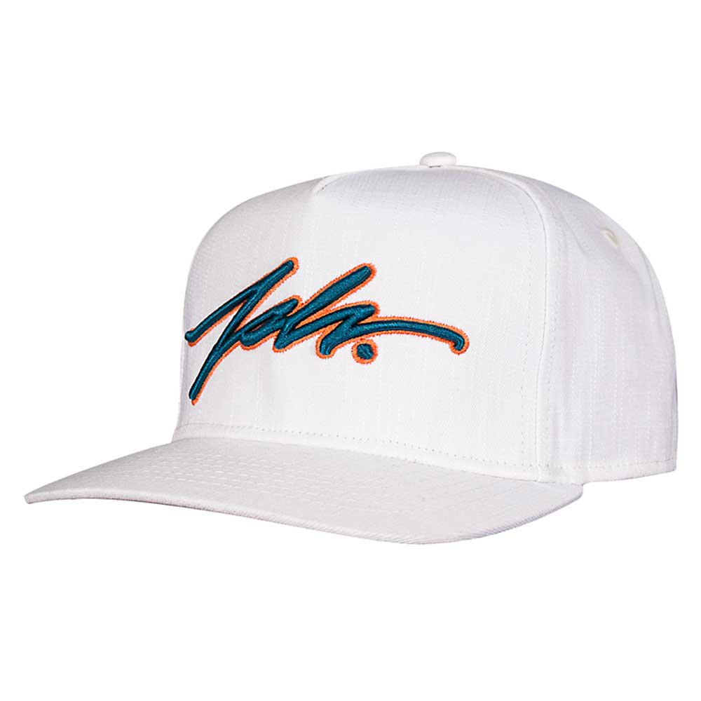 JSLV SIGNATURE CROSSHATCH SNAPBACK[WH...