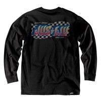JSLV 1ST PLACE L/S TEE[BLACK]  - #MLS8019<img class='new_mark_img2' src='//img.shop-pro.jp/img/new/icons5.gif' style='border:none;display:inline;margin:0px;padding:0px;width:auto;' />