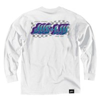 JSLV 1ST PLACE L/S TEE[WHITE]  - #MLS8019<img class='new_mark_img2' src='//img.shop-pro.jp/img/new/icons5.gif' style='border:none;display:inline;margin:0px;padding:0px;width:auto;' />