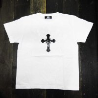 KOB Clothing (R) CROSS T-SHIRTS[WHITE]<img class='new_mark_img2' src='//img.shop-pro.jp/img/new/icons8.gif' style='border:none;display:inline;margin:0px;padding:0px;width:auto;' />