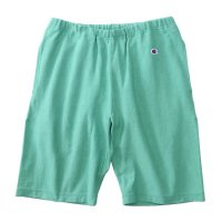 [SUPER SALE/50%OFF]Champion REVERSE WEAVE SWEAT SHORT PANTS[DULL GREEN] - C3-D526