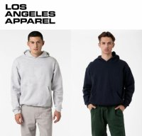 LOS ANGELES APPAREL HF09 Heavy Fleece PO 14oz Hood