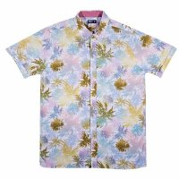 [SUPER SALE/30%OFF]JSLV RALPH PALMS DISTRESS S/S WOVEN SHIRT - MWV8043