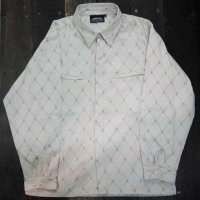 MONONOFU BOOGIE 武士武技 PACHUCO CROSS SHIRT[WHITE]