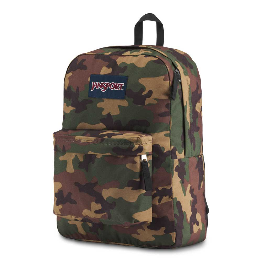 JanSport Superbreak Surplus Camo Backpack BRAND NEW