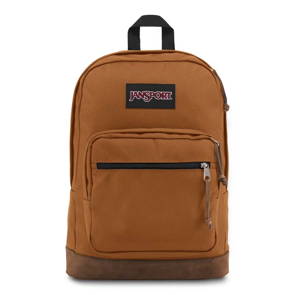 JANSPORT RIGHT PACK BACKPACK[BROWN CA...