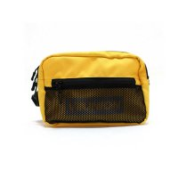 [SUPER SALE/30%OFF]7UNION 7U BOX REFLECTOR DOUBLE ZIP BAG[YELLOW] - 7UB-908