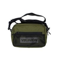 7UNION 7U BOX REFLECTOR DOUBLE ZIP BAG[OLIVE] - 7UB-908