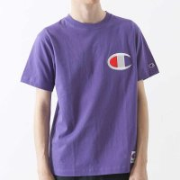 Champion Big C Logo T-shirt[DEEP PURPLE]