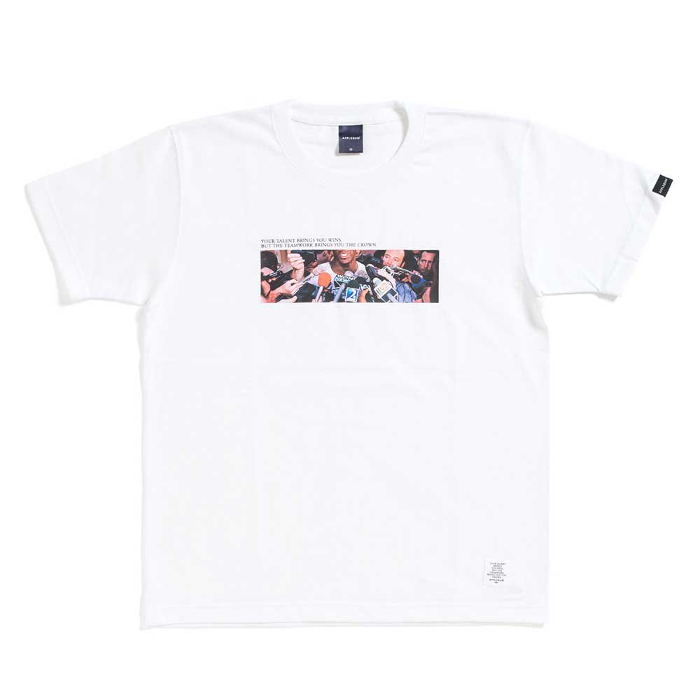 APPLEBUM SUPA STAR T-SHIRT[WHITE] - H...