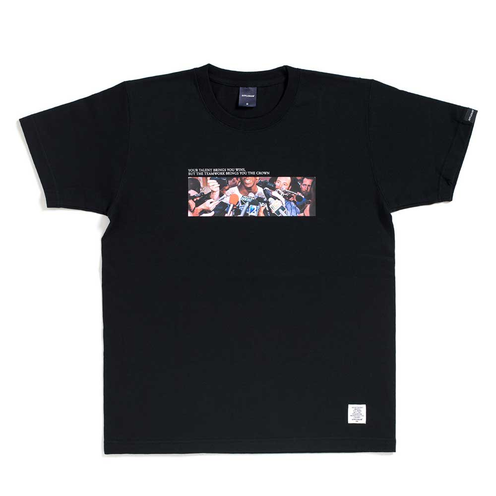 APPLEBUM SUPA STAR T-SHIRT[BLACK] - H...