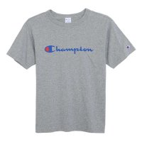 Champion BASIC LOGO T-SHIRT[OXFORD GREY] - C3-H374