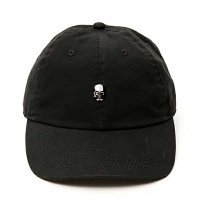 APPLEBUM SWAROVSKI SKULL COTTON CAP[BLACK] - 1810903 - O