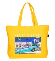APPLEBUM FANTASTIC VOYAGE TOTEBAG [YELLOW] - HS1811005