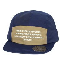 7UNION NICE CAMP CAP[NAVY/BROWN] - IPVW-141