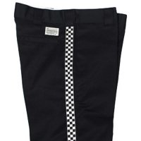 7UNION REMAKE SIDE LINE TAPE PANTS[BLACK/CHECK] - IPVW-021C