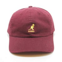 KANGOL WASHED BASEBALL [WINE]- 100169212