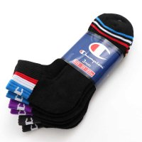 Champion SHORT LENGTH SOCKS 3P[BLACK] - CMSCL301