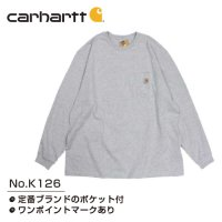 [ CARHARTT ] K126 WIP LONG SLEEVE POCKET T-SHIRT - カーハート ロングスリーブ ポケット Tシャツ