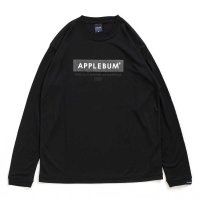 APPLEBUM ELITE PERFORMANCE L/S DRY T-SHIRT [BLACK] - EA1821101<img class='new_mark_img2' src='//img.shop-pro.jp/img/new/icons8.gif' style='border:none;display:inline;margin:0px;padding:0px;width:auto;' />