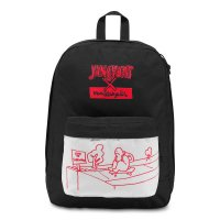 JANSPORT THE GONZ FX BACKPACK[WHITE/BLACK/RED/5D3]
