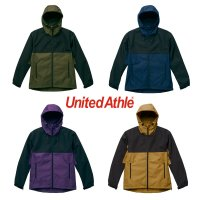 UNITED ATHLE SWITCHING SHELL PARKA[4COLOR] - 7489-01 - プリント対応