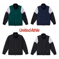 [ UNITED ATHLE ] COTTON LIKE NYLON TRACK JACKET - 7210-01 - プリント対応