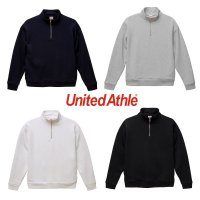UNITED ATHLE 10.0OZ T/C HALF ZIP SWEAT[4COLOR] - 5628-01 - オリジナルプリント・刺繍対応
