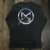 DC CLOTHING METAL CIRCLE LOGO L/S T-SHIRTS[BLACK/P-METAL]