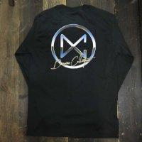 DC CLOTHING METAL CIRCLE LOGO L/S T-SHIRTS[BLACK/P-METAL]