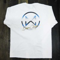 DC CLOTHING METAL CIRCLE LOGO L/S T-SHIRTS[WHITE/P-METAL]