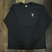 DC CLOTHING DC BOY L/S T-SHIRTS[BLACK/W-DCBOY]