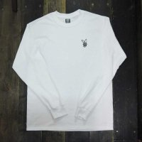 DC CLOTHING DC BOY L/S T-SHIRTS[WHITE/W-DCBOY]